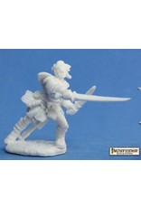 Reaper Miniatures Bones: PF: Valeros, Iconic Fighter