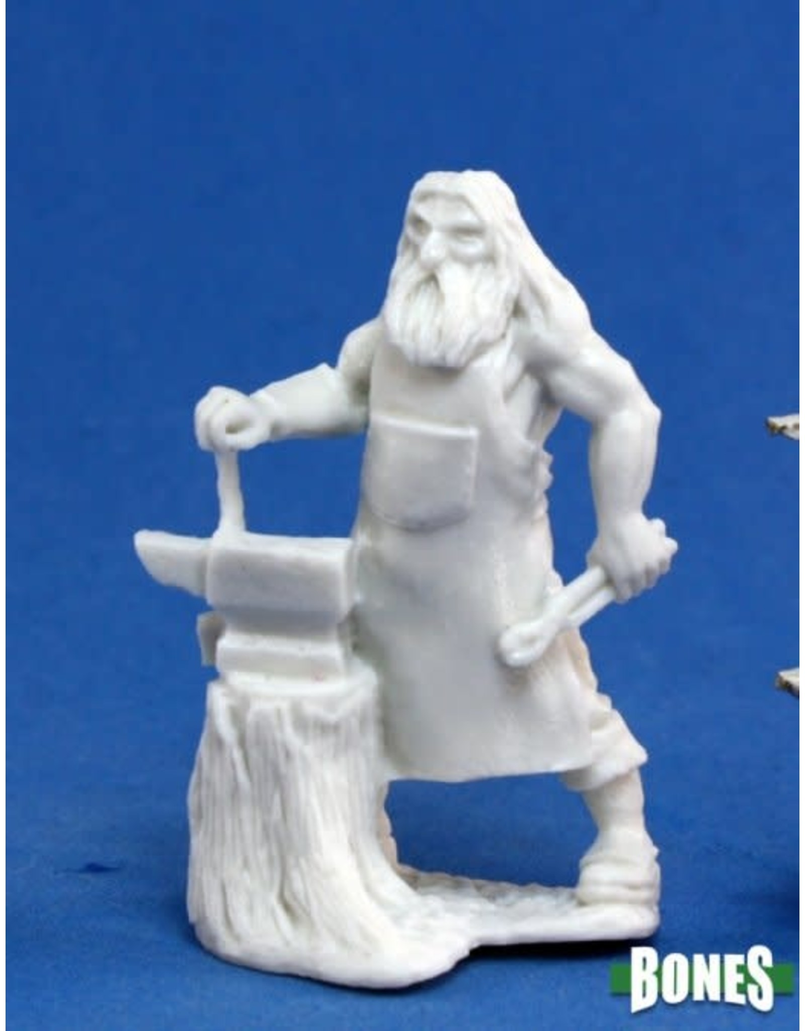 Reaper Miniatures Bones: Townsfolk:Blacksmith