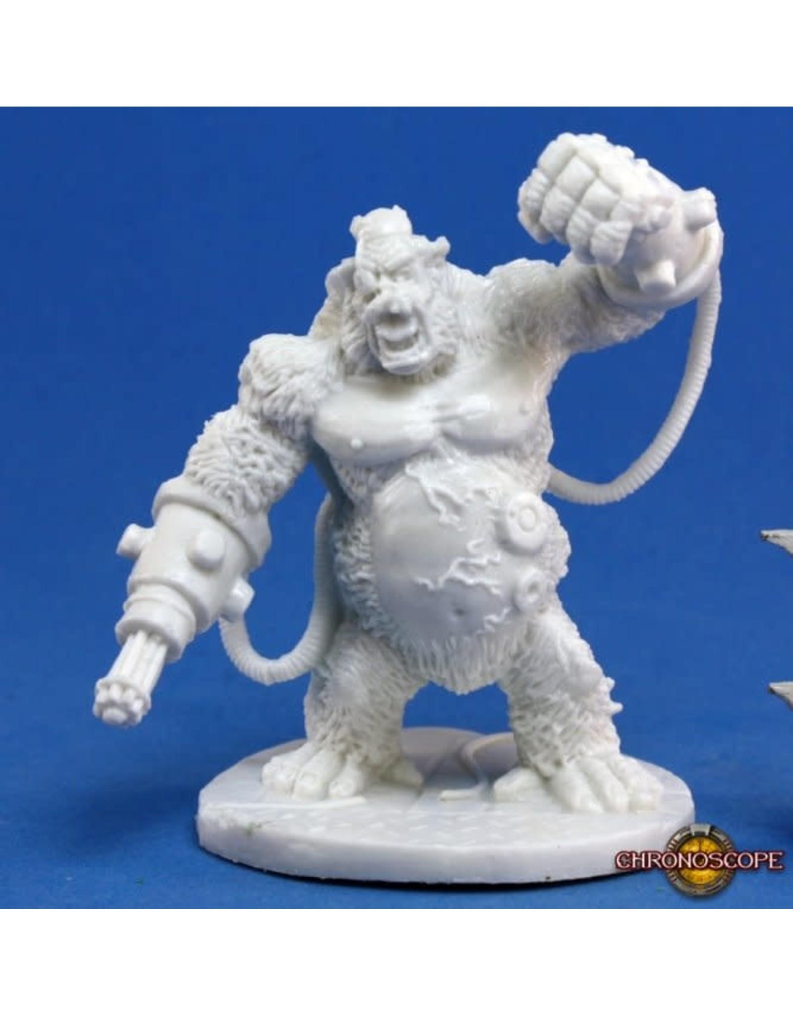 Reaper Miniatures Bones: Garvin Markus, Nova Corp Hero