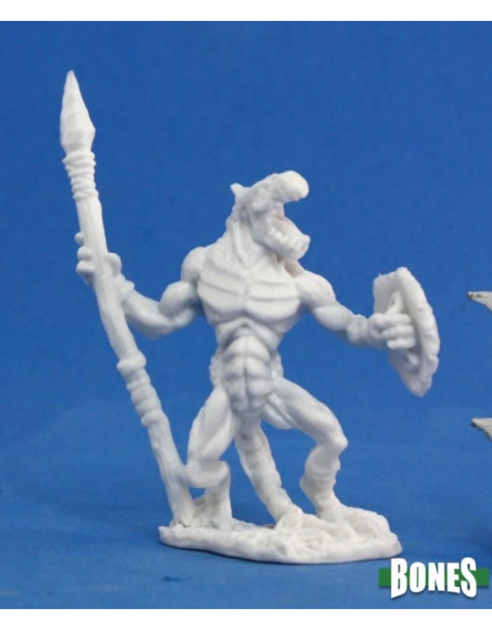 Reaper Miniatures Bones: Lizardman Soldier