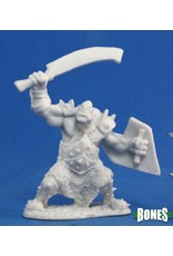 Reaper Miniatures Bones: Orc Marauder (Sword & Shield)