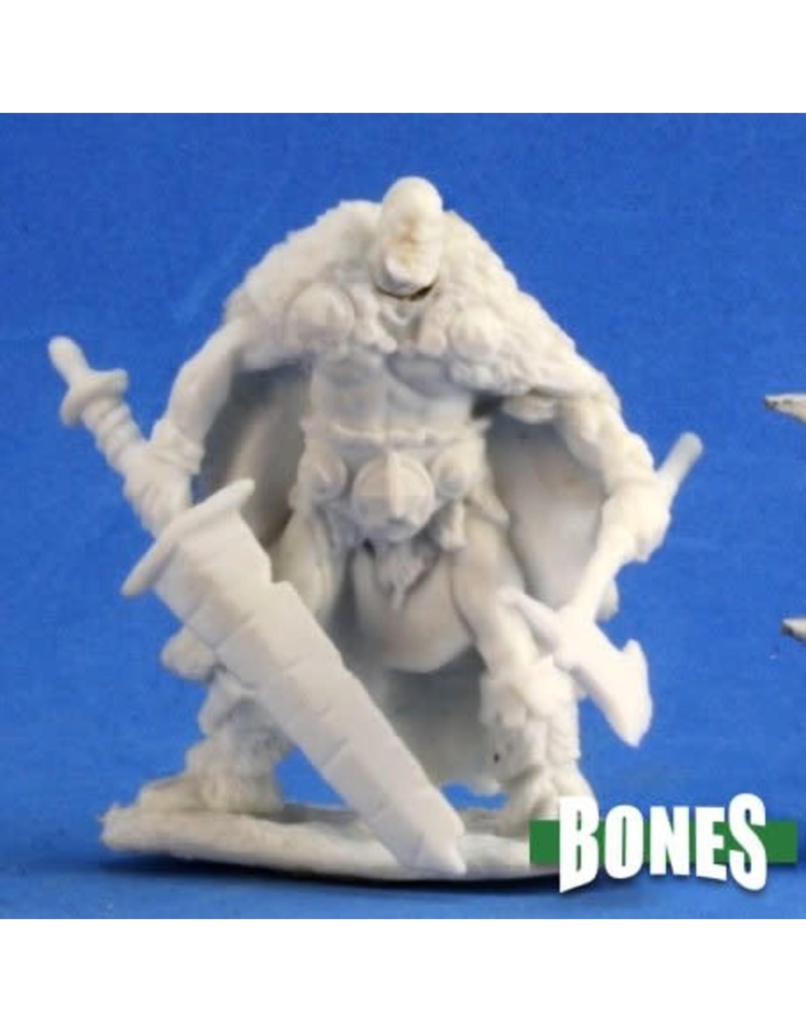 Reaper Miniatures Bones: Thund Bloodwrack Barbarian