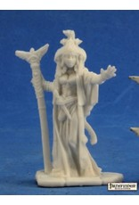 Reaper Miniatures Bones Alahazra, Iconic Oracle