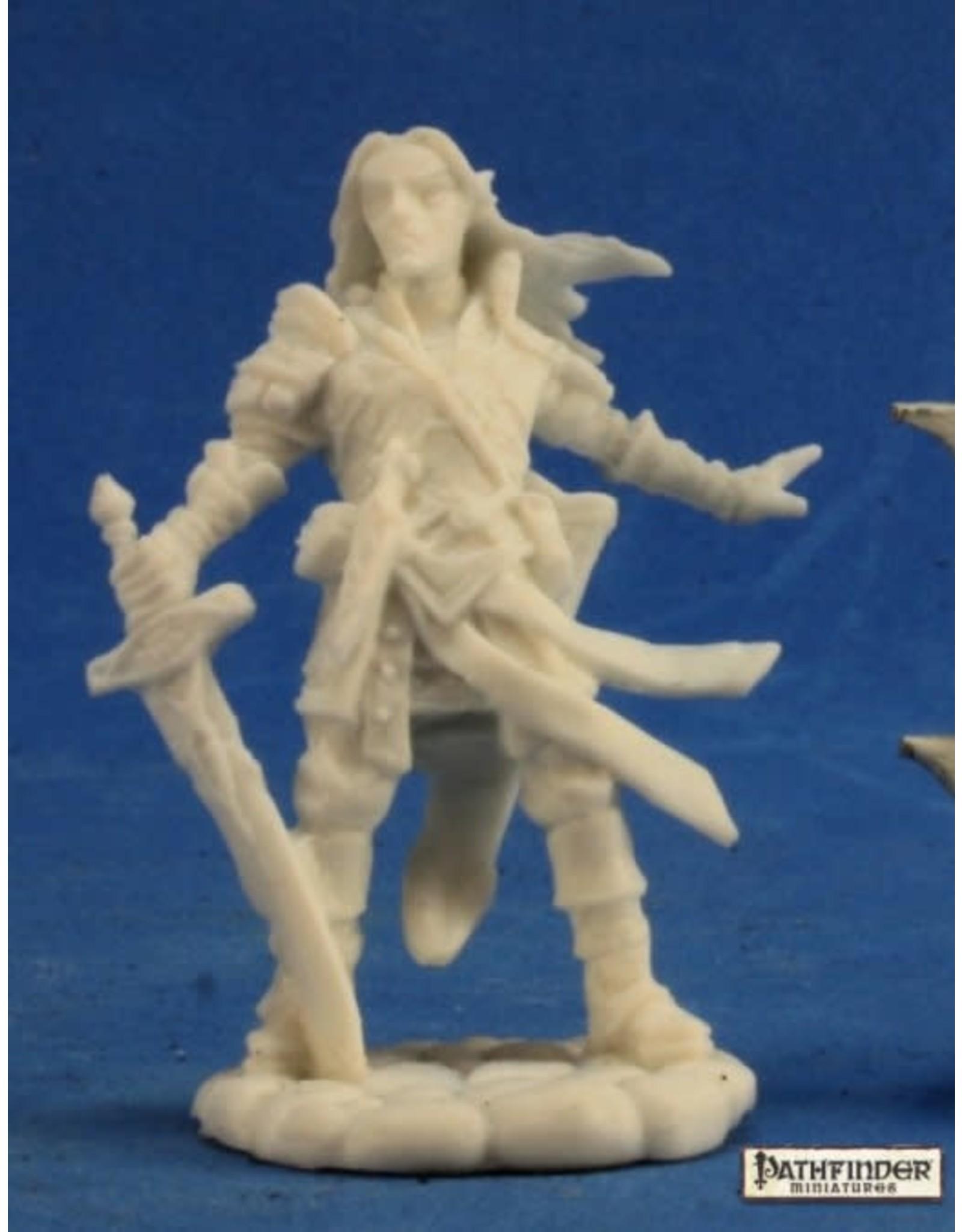 Reaper Miniatures Bones: Arael, Half Elf Cleric