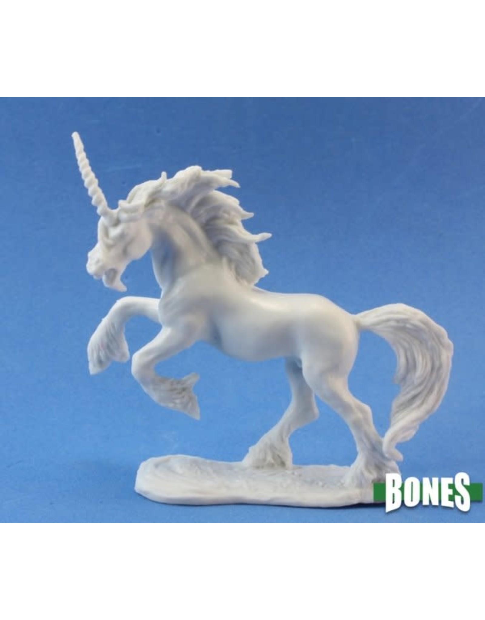 Reaper Miniatures Bones: Silverhorn, Unicorn