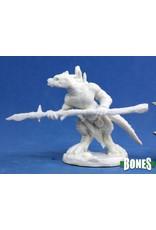 Reaper Miniatures Bones: Lizardman Spearman
