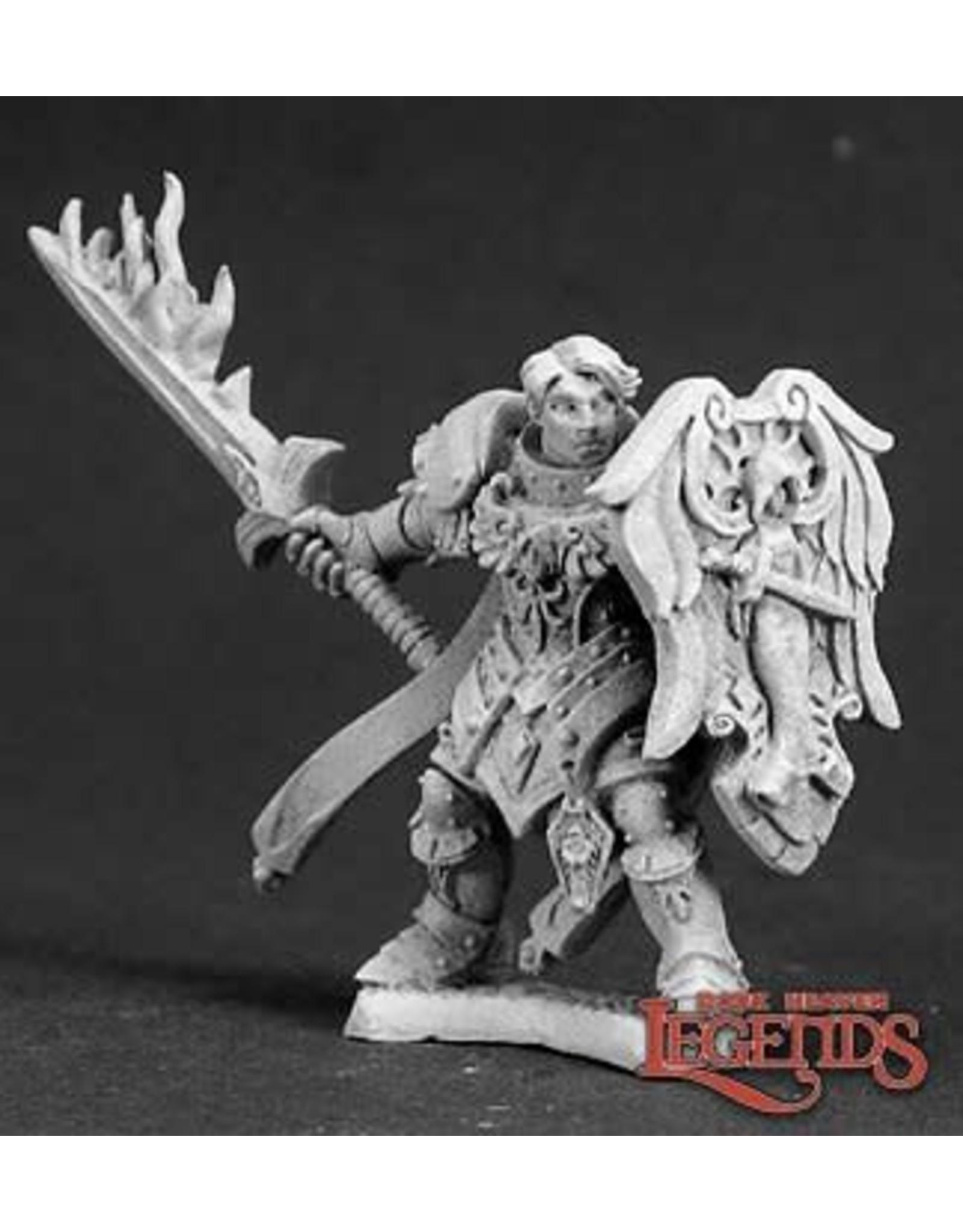 Reaper Miniatures Almaran the Gold, Paladin