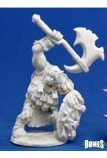 Reaper Miniatures Bones: Kavorgh, Orc Warboss