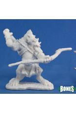 Reaper Miniatures Bones: Blacktongue, Gnoll Archer