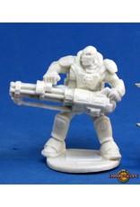 Reaper Miniatures Bones: IMEF: Reggie Van Zandt