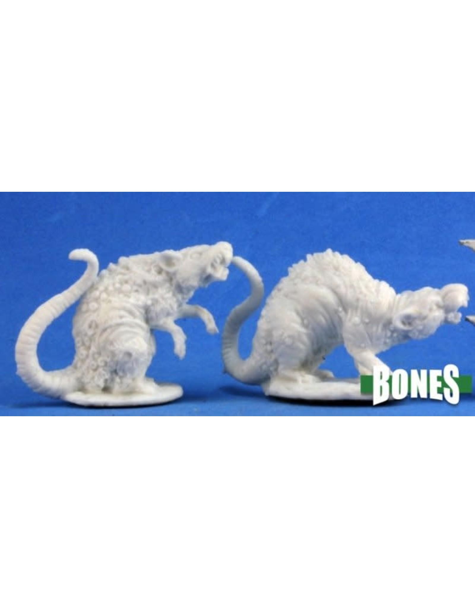 Reaper Miniatures Bones: Barrow Rats (2)