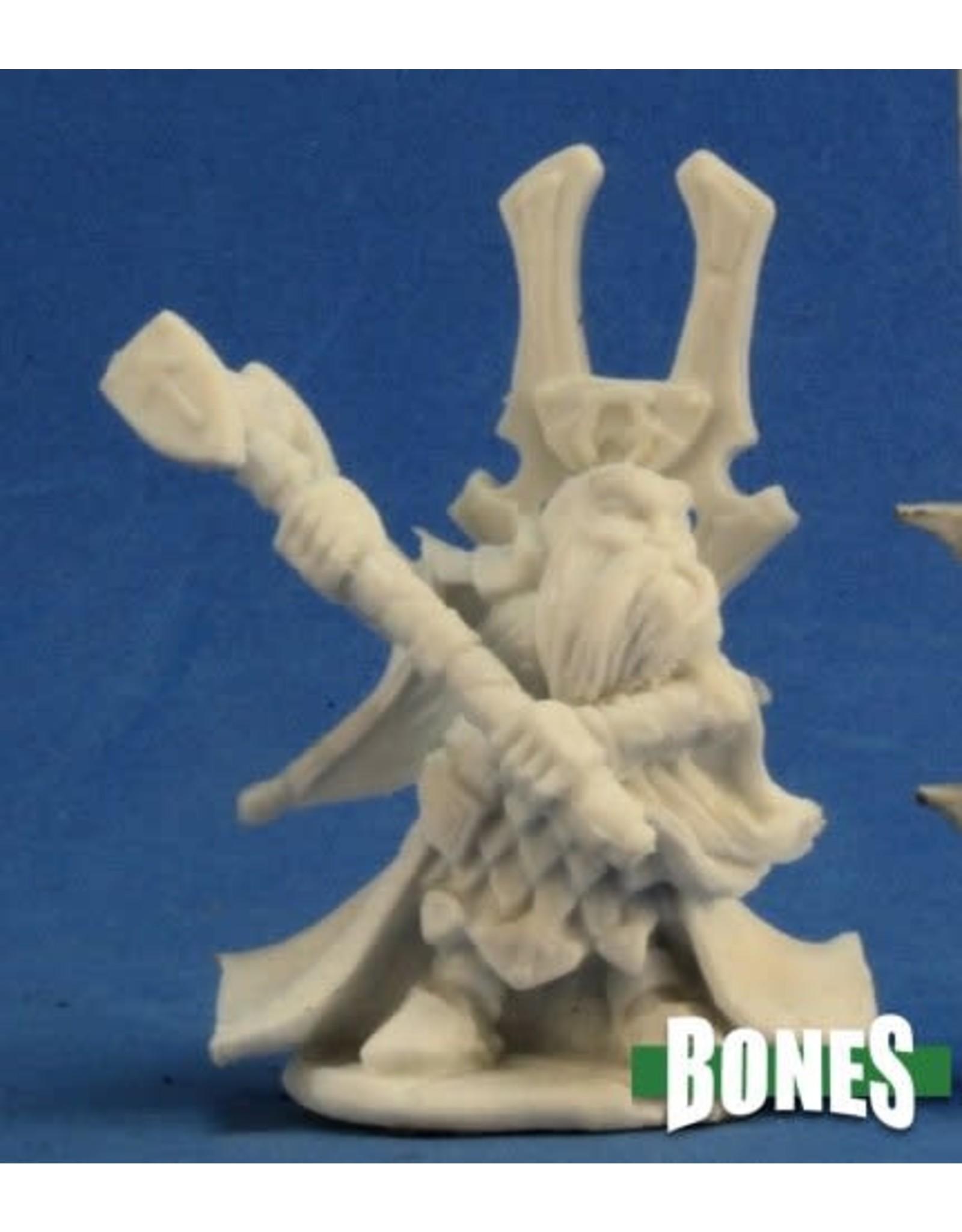 Reaper Miniatures Bones: Herryk Dwarf Priest