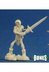 Reaper Miniatures Bones: Skeleton Guardian 2H Sword [3]