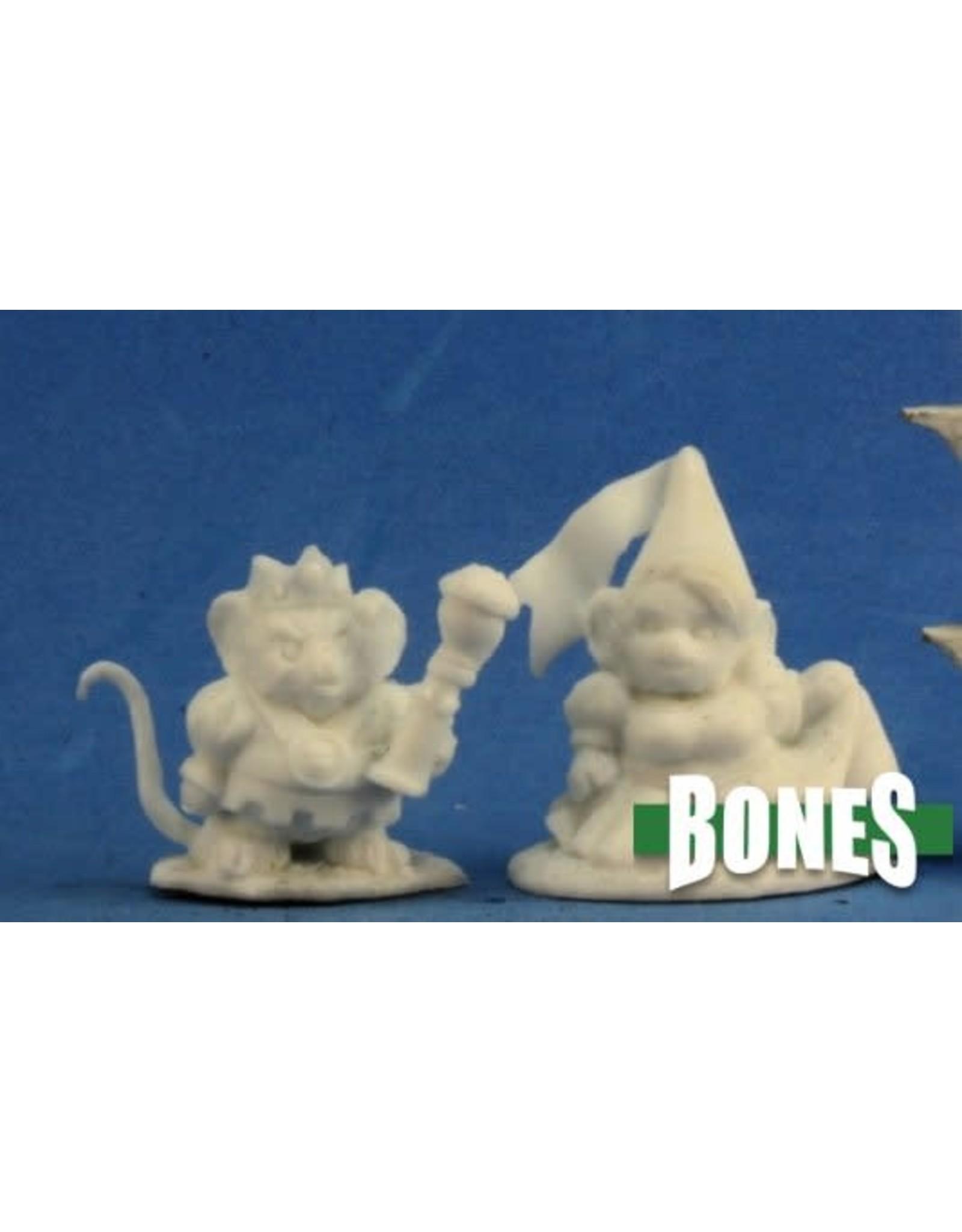 Reaper Miniatures Bones: Mousling King and Princess