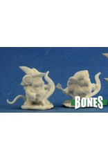 Reaper Miniatures Bones: Mousling Ranger and Yeoman