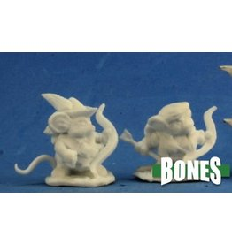 Reaper Miniatures Bones: Mousling Ranger and Yeoman