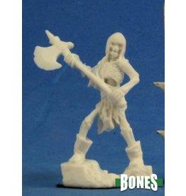 Reaper Miniatures Bones: Skeleton Guardian Axeman [3]