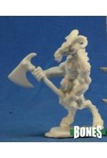 Reaper Miniatures Bones: Beastman Warrior 1