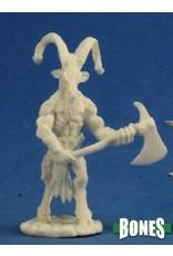 Reaper Miniatures Bones: Beastman Warrior 2