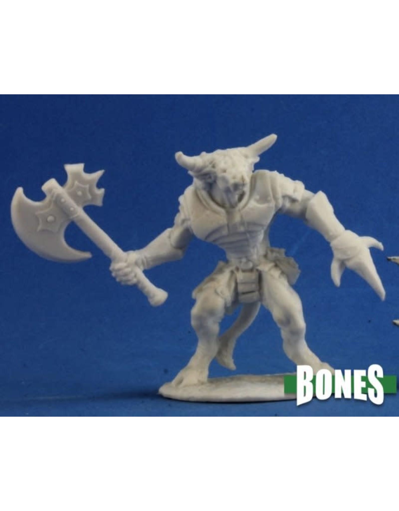 Reaper Miniatures Bones: Bronzeheart, Minotaur Hero