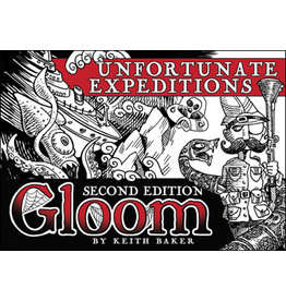 Atlas Games Gloom 2nd Edition: Unfortunate Expeditions