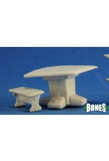 Reaper Miniatures Bones: Table and Benches