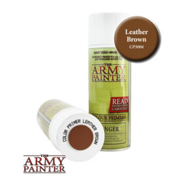Army Painter Color Primer: Leather Brown