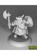 Reaper Miniatures Borin Ironbrow, Dwarf Fighter