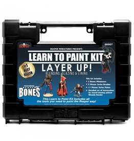 Reaper Miniatures Reaper: MSP Learn to Paint Kit, Layer Up! (11 paints)