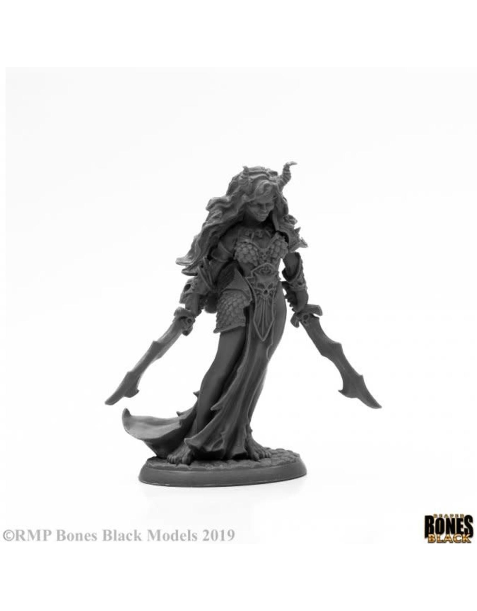 Reaper Miniatures Bones Black: Ziba, Female Efereti