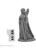 Reaper Miniatures Bones Black: Anthanelle, Female Elf Wizard