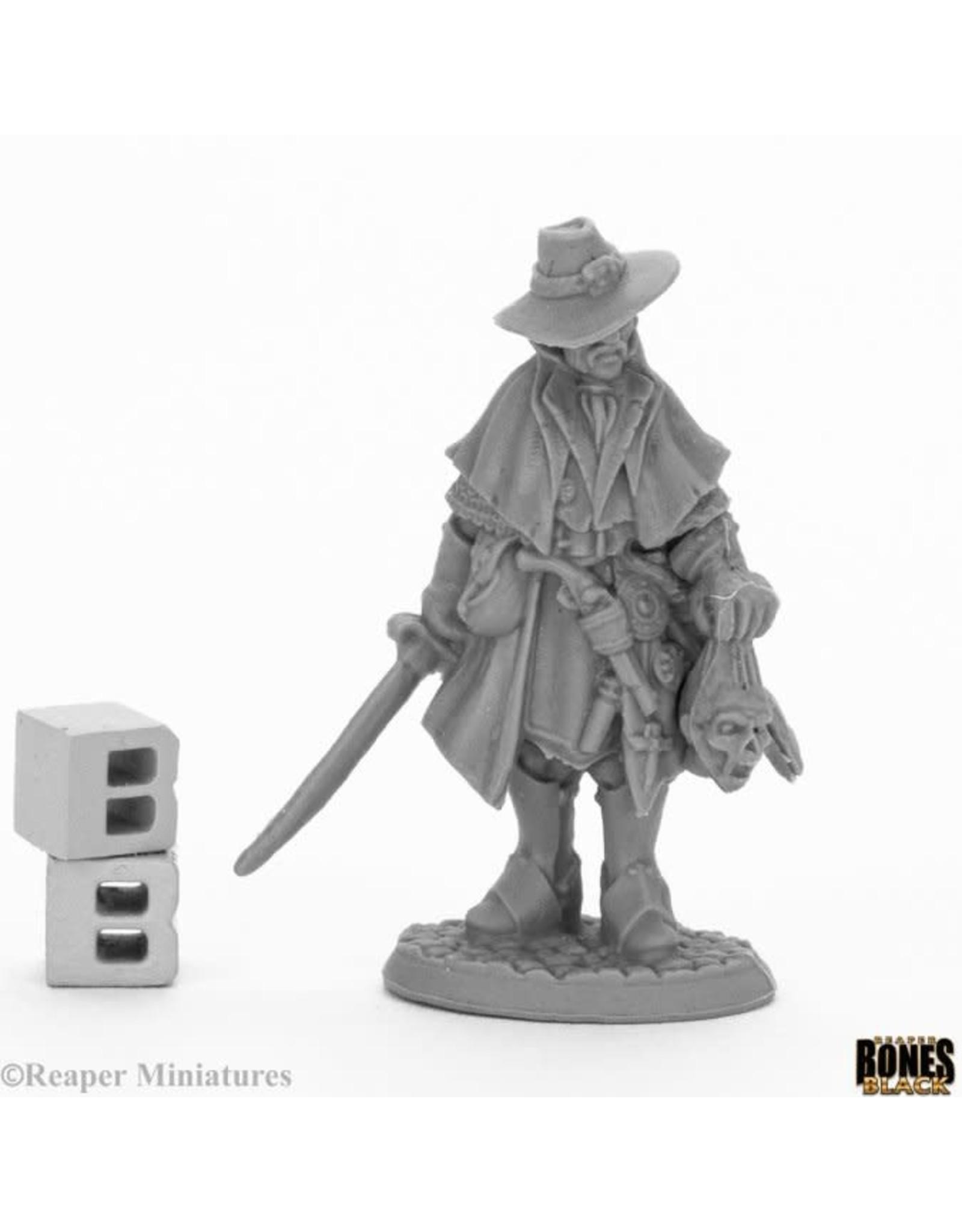Reaper Miniatures Bones Black: Jakob Knochengard