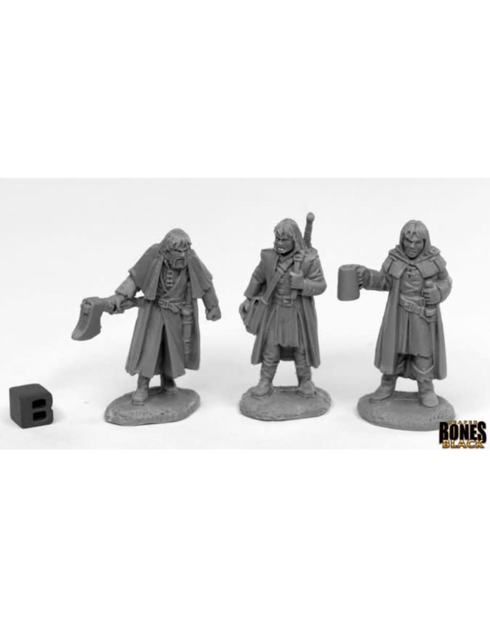 Reaper Miniatures Bones Black: Dreadmere Mercenaries