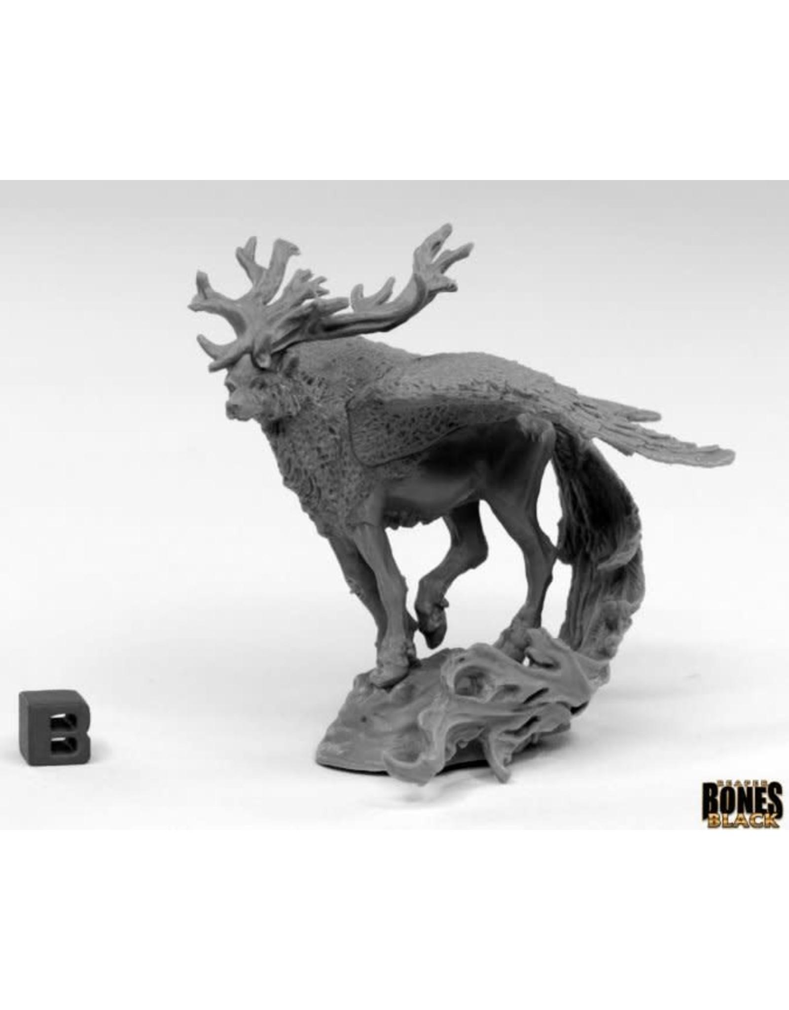 Reaper Miniatures Bones Black: Spirit Beast