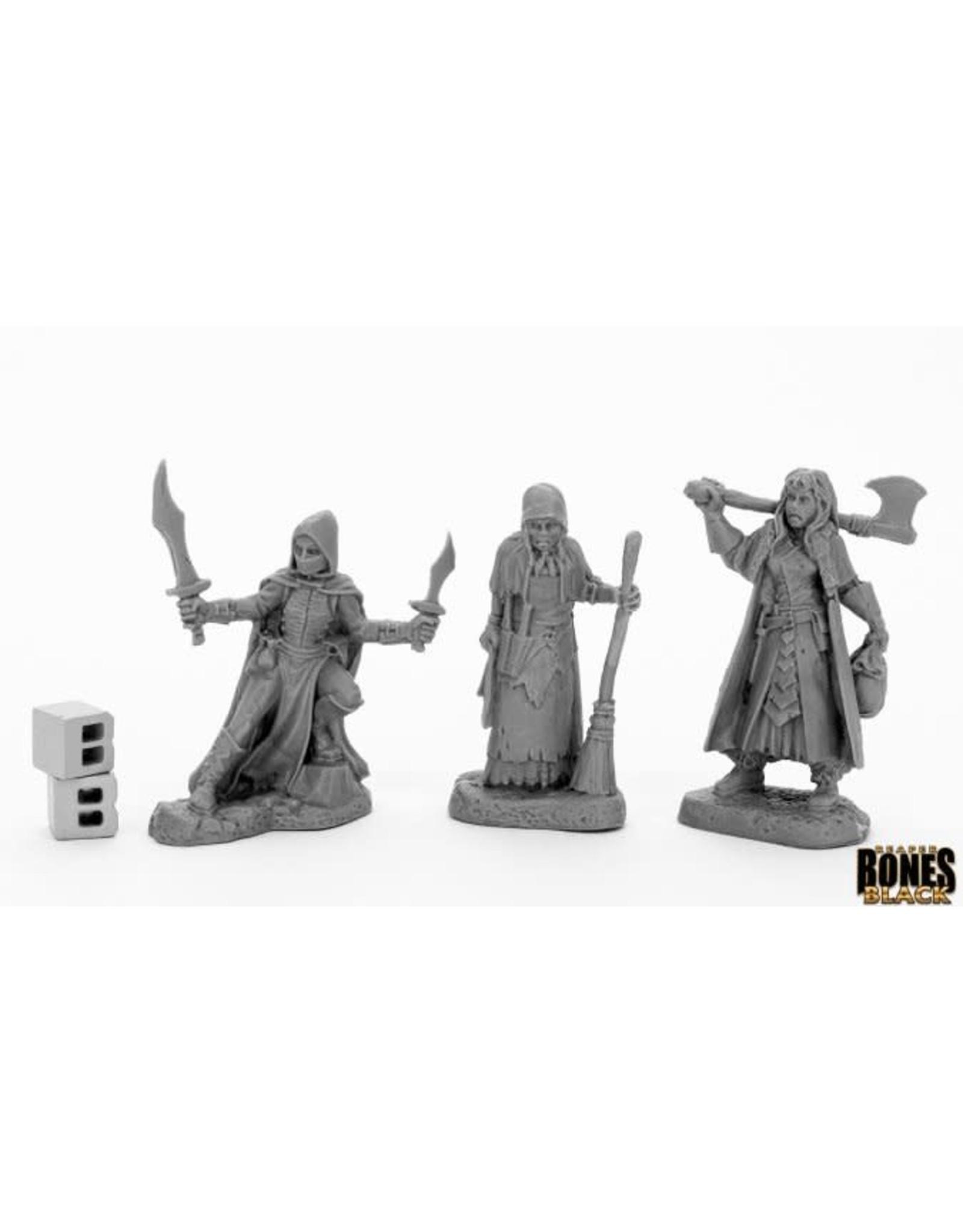 Reaper Miniatures Bones Black: Women of Dreadmere