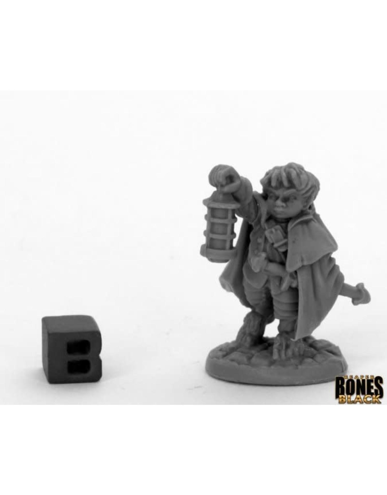 Reaper Miniatures Bones Black: Bergamot, Halfling Scout