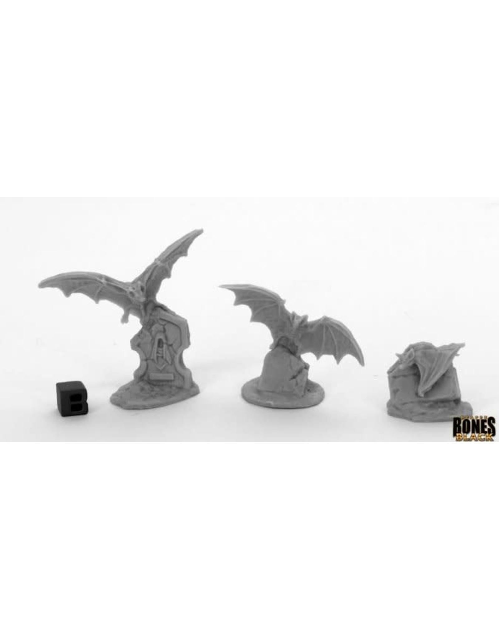 Reaper Miniatures Bones Black: Giant Bats