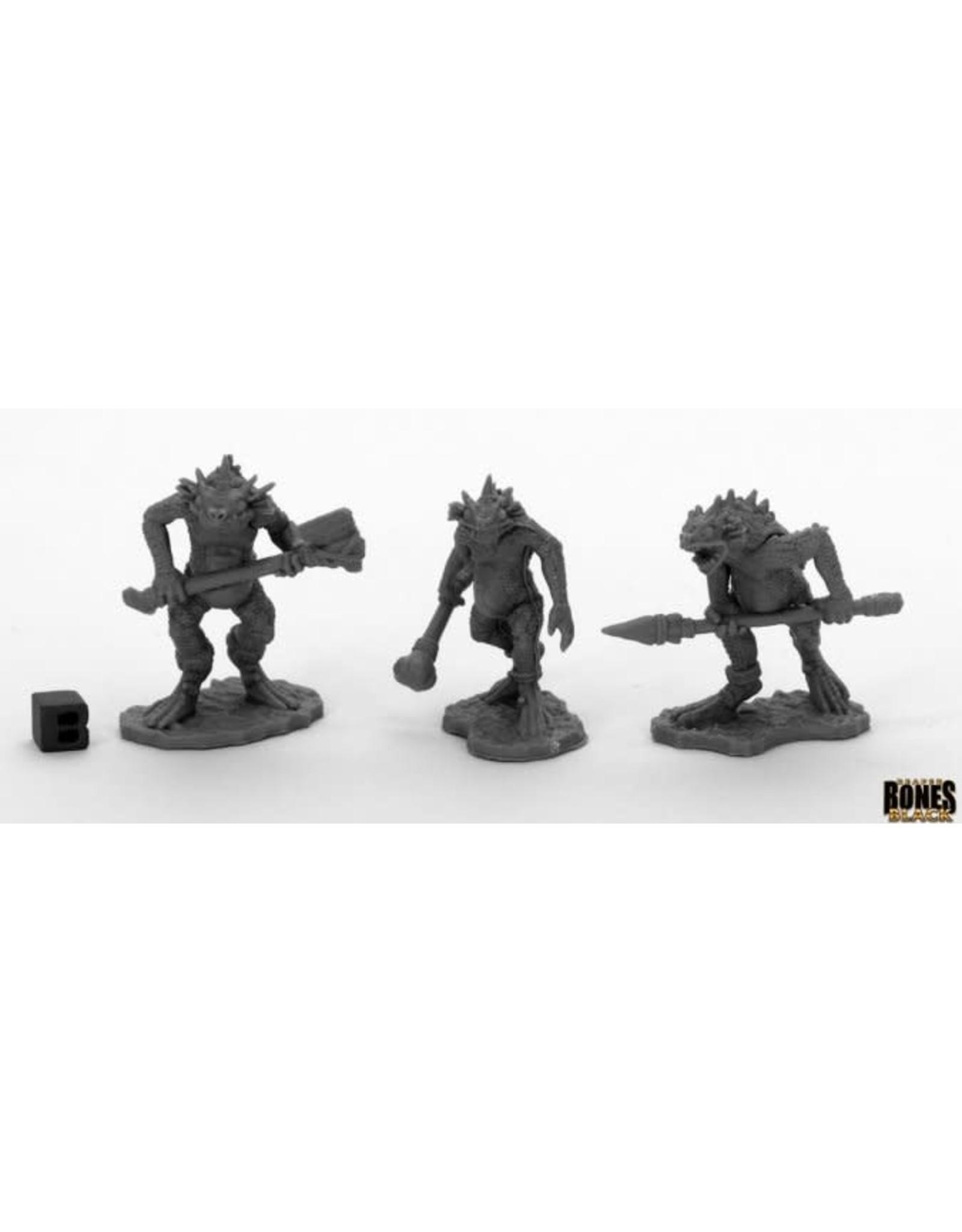 Reaper Miniatures Bones Black: Trogolodytes