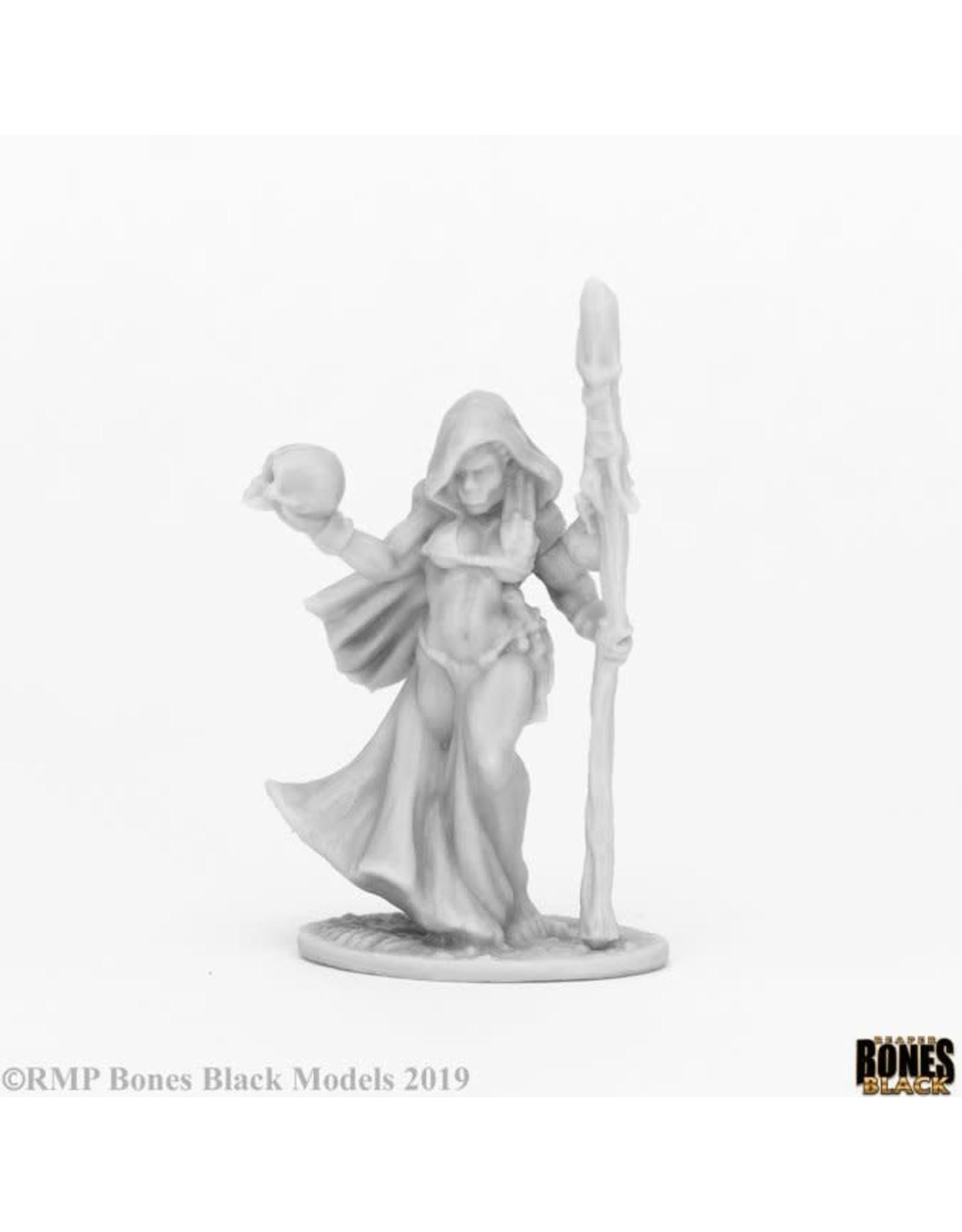 Reaper Miniatures Bones Black: Jade Fire Shaman