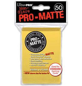 Ultra Pro DP: PRO Matte Yellow (50)
