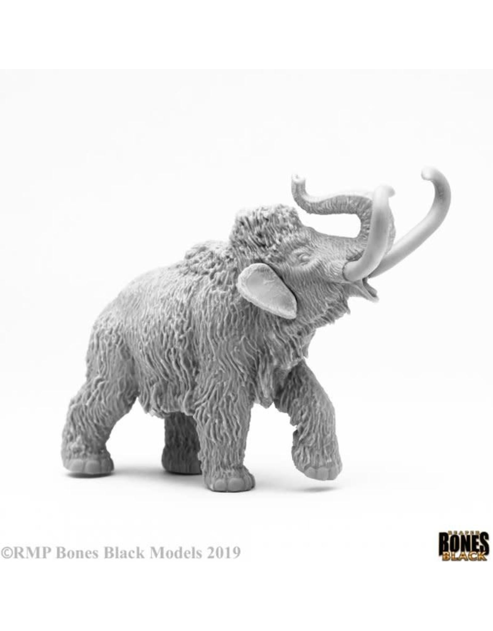 Reaper Miniatures Bones Black: Pygmy Mammoth