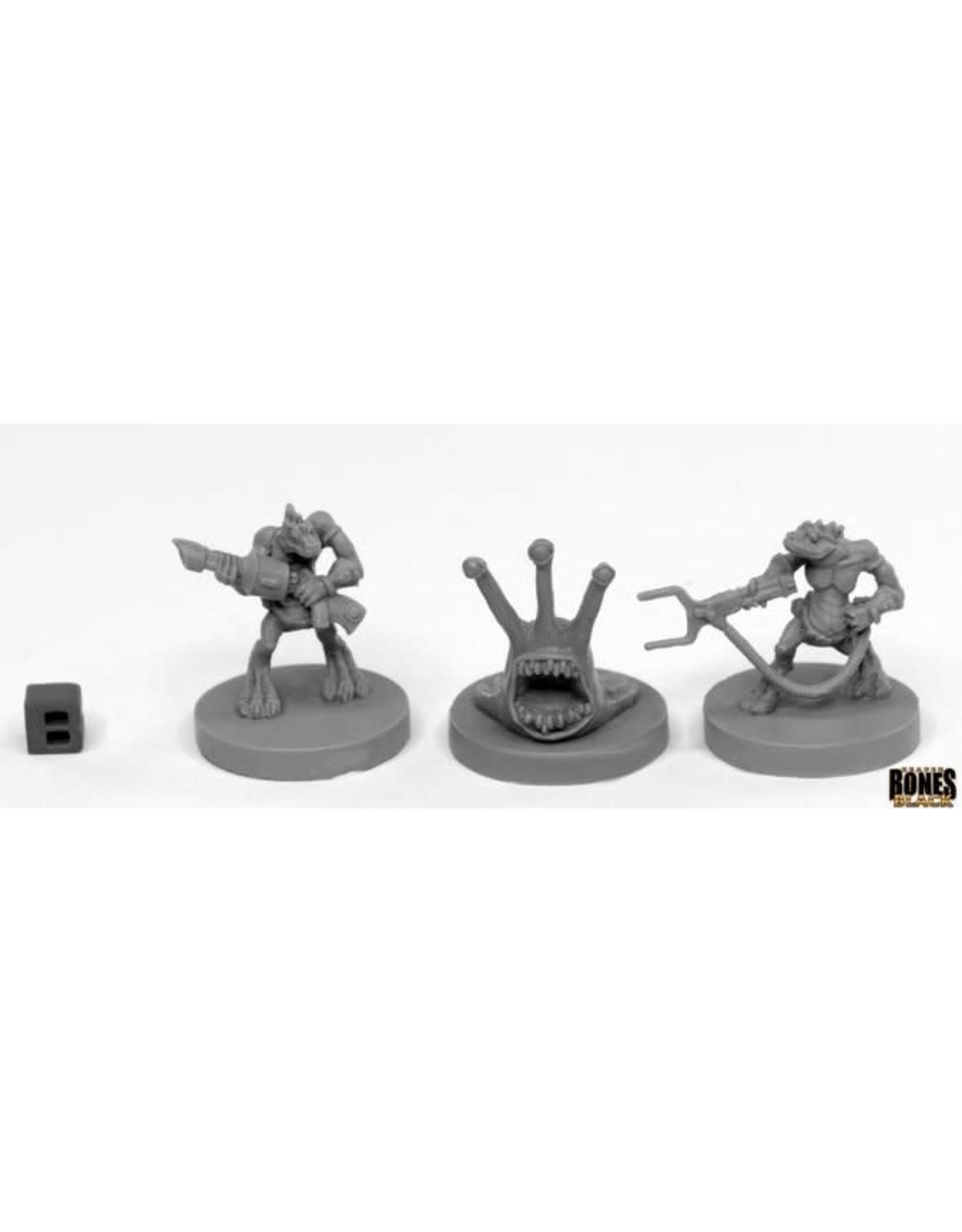 Reaper Miniatures Bones Black: Sliggs and Squarg