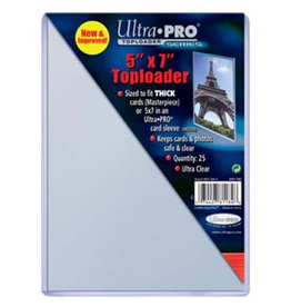 Ultra Pro Top Loader 5x7