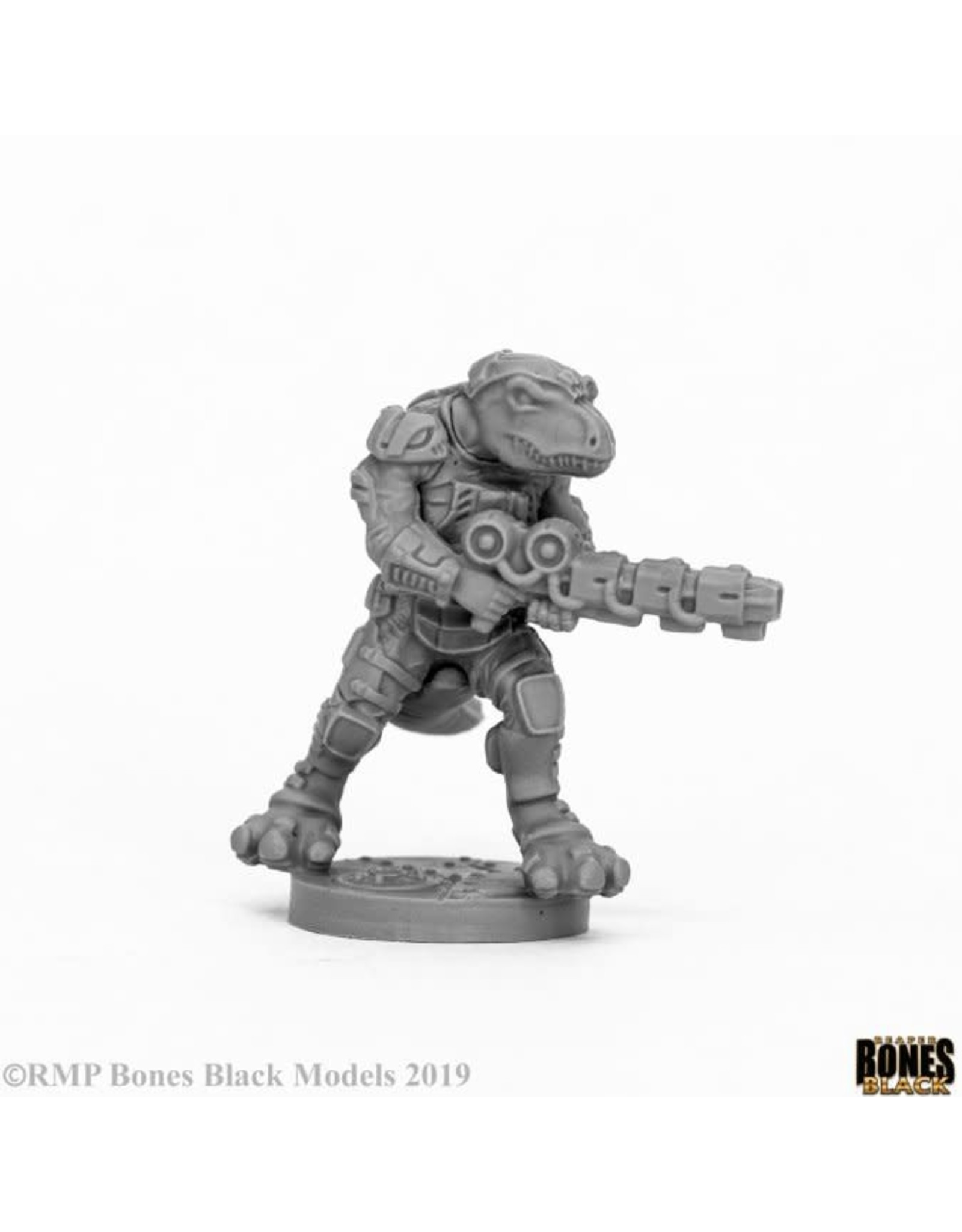 Reaper Miniatures Bones Black: BLACKTOOTH SUPPRESSOR