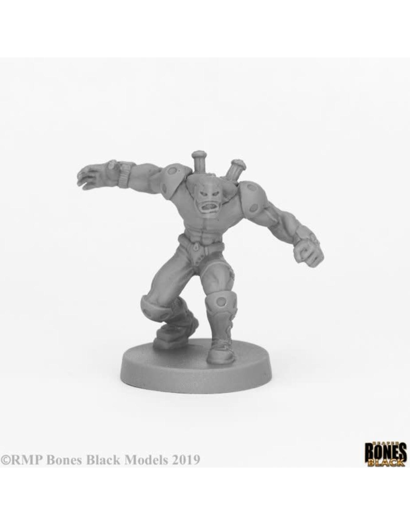 Reaper Miniatures Bones Black: Crosswire, Super Villain