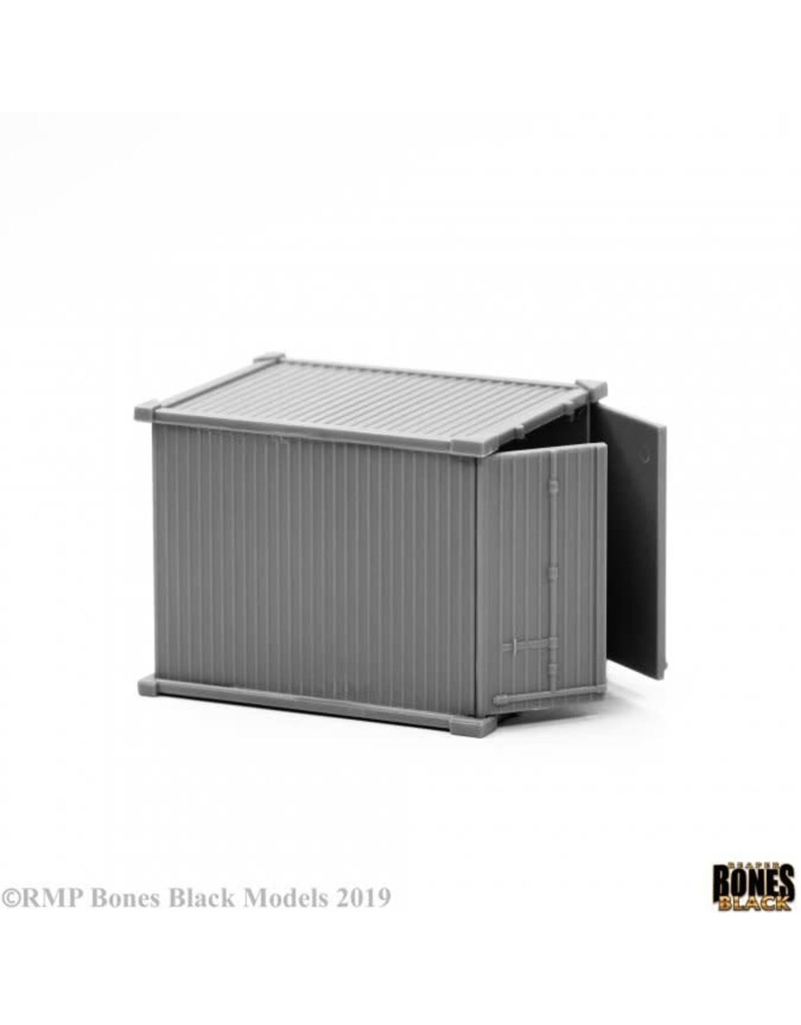 Reaper Miniatures Bones Black: 10' Container