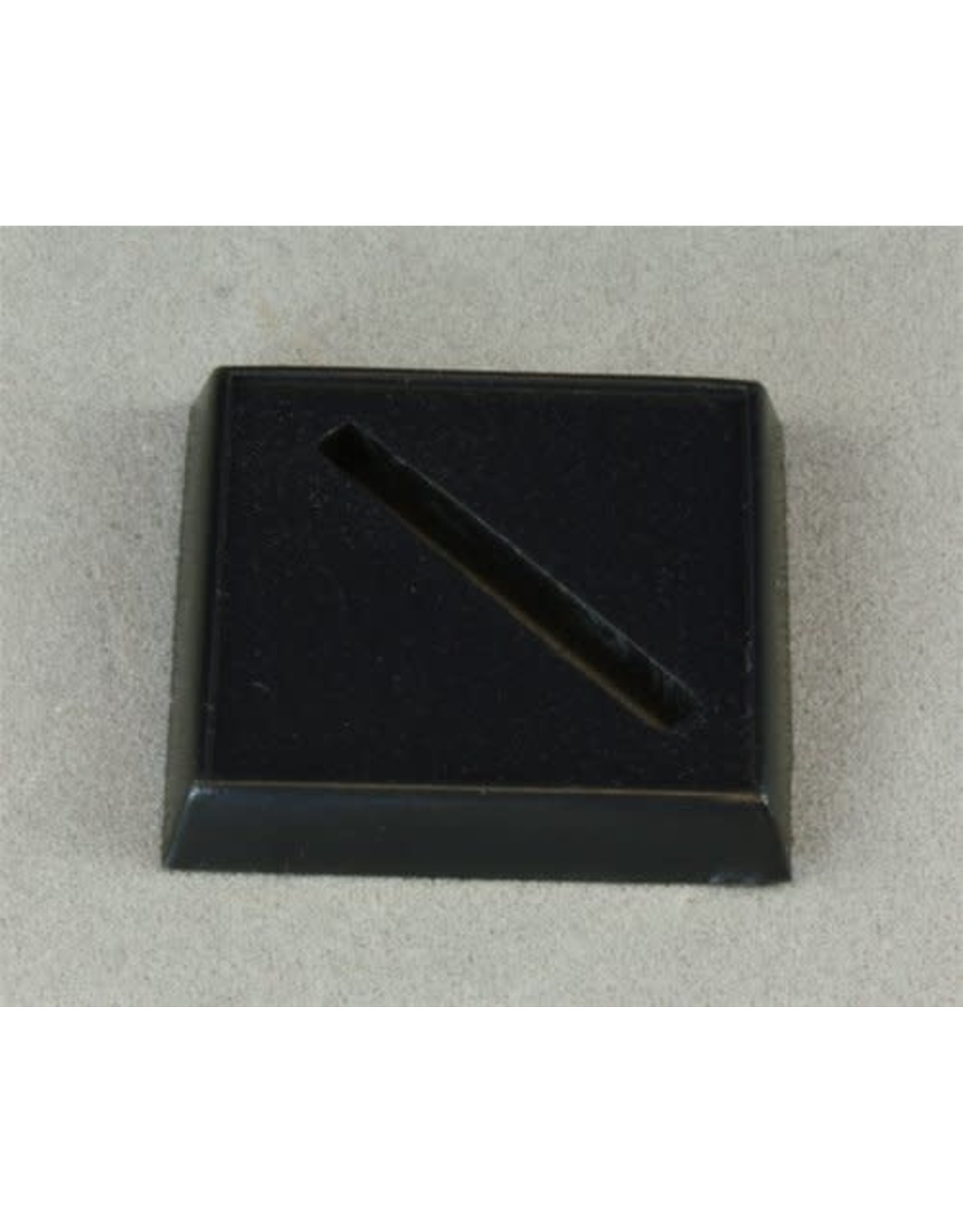 Reaper Miniatures 1 inch Sq Slotted Base (20)