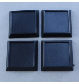 "Reaper Miniatures 1"" Square Plastic RPG Base (20)"
