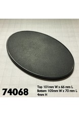 Reaper Miniatures 105 x 70mm Oval Gaming Base