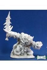 Reaper Miniatures Bones: Boerogg Blackrime, Frost Giant